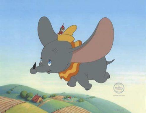 Dumbo La pluma mágica de Dumbo y la pulsera Power Balance