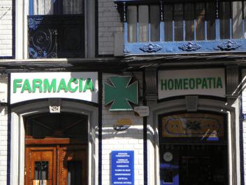 Farmacia y homeopatía