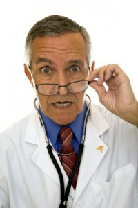 Doctor sorprendido