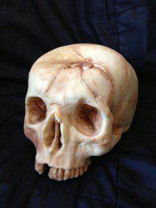 Tarta cráneo