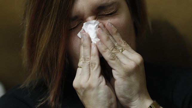 Mocos por la gripe