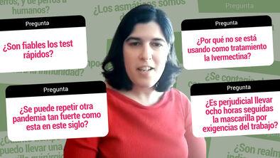 Sesión preguntas y respuestas Esther Samper