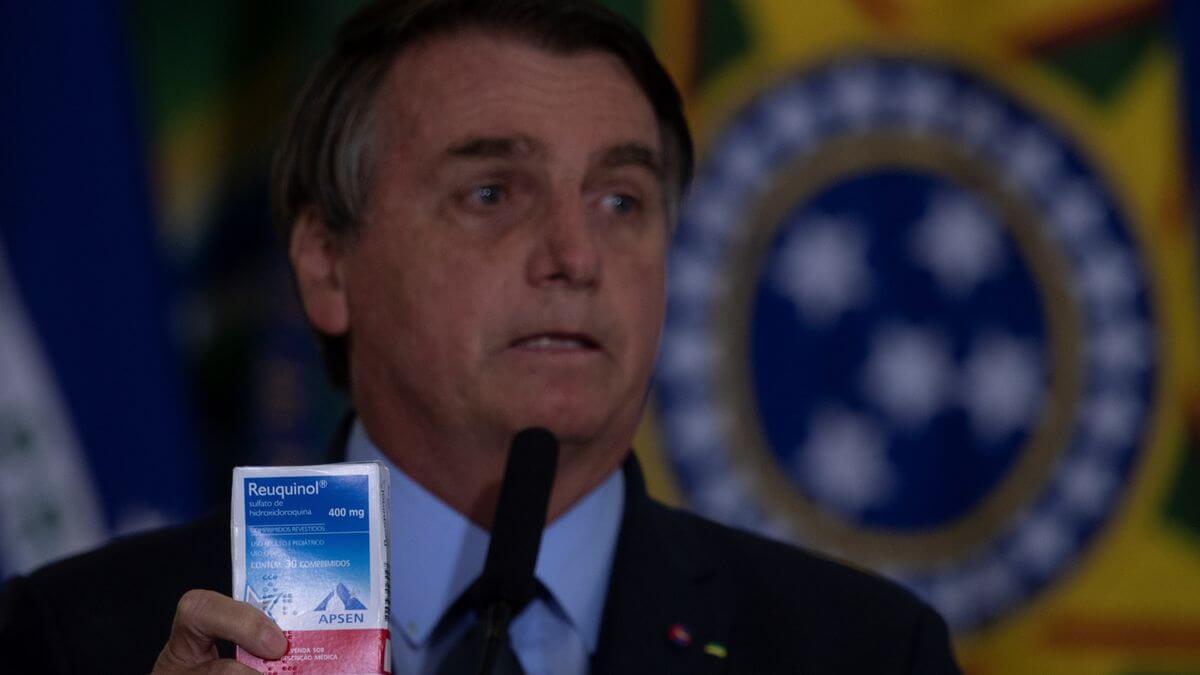 Bolsonaro Hidroxicloroquina
