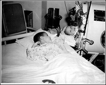 PulmonAcero2 Los pulmones de acero en las grandes epidemias de polio del siglo XX